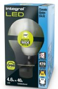 Classic Clear filament LED Bulb | 40W Equivalent |Bayonet B22 | INTEGRAL